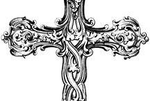 십자가 타투