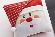Karácsonyi párna