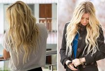 Best Clip in Hair Extensions / Best Clip in #Hairextensions, just think, spend several hours in the beauty salon and you can have long hair that looks like a dream.