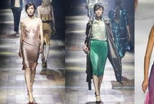 Mad for Metallic / Metallic colour palettes are strong for 2015