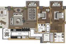 Apartement lay out