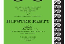 hipster grad party ideas / by Jenna Marie