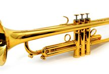 :: Trumpet :: / The #trumpet is one of the most popular brass instruments, and it has a higher register than any other horn. Learning to play the trumpet is a great way to increase lung capacity and breath control. The trumpet is also great for building discipline and concentration, since it can take lots of practice to produce true, resonant notes. #music #musiceducation #musiclessons