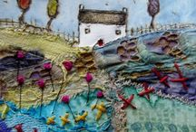 textile art inspiration / by Vicky Fearnley