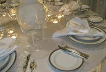 Dishware Collections / At Party Time we have the following dishware collections: Diamante, Silver Plates, Simply Stainless, Opera, Monaco, Nathalie Luxury, Regis Royal