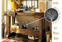 Home Bar Ideas / Discover ideas for a wet bar, mini bar, corner bar or outdoor bar.