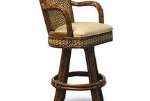 Rattan and Wicker Bars and Bar Stools / Fantastic collection of high quality Wicker and Rattan bar stools. Both indoor and outdoor available. http://www.americanrattan.com/rattan-bar.html
