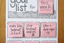 Vision board and other motivational ideas!
