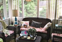 "Blogger's BEST Porch Ideas / Welcome to our Blogger's Best Porch Ideas board where you'll find all the best porch decor, seasonal ideas, and porch styles from your favorite bloggers. Come on in and do some ""porch sitting"" with us! Contributors: please limit your pins to 5 per day, and no more than 2 at one time. Pinning is by invitation only. Please do not add giveaways, products,affiliate links, Etsy,or marketing pins and make sure all pins go directly to post links. Thanks & Enjoy!"