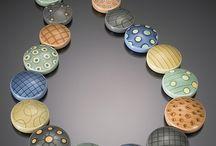 Amazing necklaces! / Polymer clay / silver clay pieces