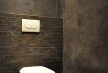 Interieur - Verftechnieken muren