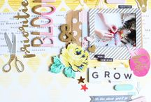 Lay Out Scrapbooking / Lay Out's Scrapbooking, Clean and Simple, Mix Media,