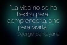 La vida, en español
