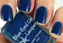 Blue-Eyed Girl Lacquer Swatches