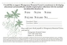 Supporting Montgomery Botanical / How to donate.