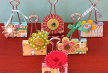 Apliques, Enfeites, embellishments / Mimos para enfeitar páginas e presentes.