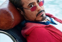 Robert Downey Jr = Tony Stark = IronMan / by Maithili Khapre