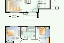 Emeletes ház tervek