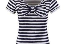 striped shirts!