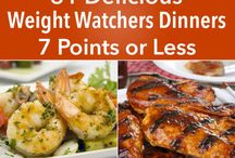 Weight watcher dinners