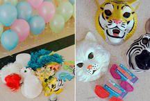 Animal Party / Boyish theme