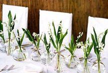 Minimal table decorations
