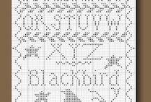 Cross stitch / by Susan Brunson