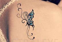tatouages butterfly