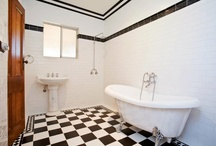 Bathroom Floor Inspiration / Inspiring and stylish bathroom floors