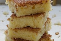 Cinnamon sugar cookie squares / Sweets