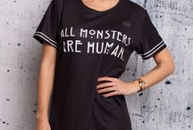 Amercian Horror Story / American Horror Story has launched from TV screens in to the world of fandom fashion with this collection inspired by the nail-biting Emmy and Golden Globe winning series.