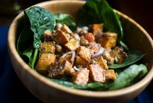 Salads / Spinach salads, grain salads and more healthy and delicious recipes from Melissa Clark, Martha Rose Shulman and the staff of The New York Times. / by NYT Food