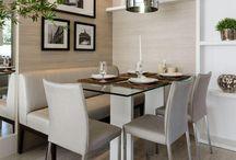 decoração sala jantar