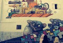 Arab world street art