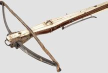 Antique crossbows / Antique and old crossbows
