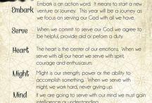 embark in the service in god