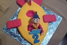Birthday cakes (I baked)