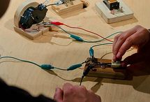 """Making & Tinkering Program Ideas / A collection of programming ideas that involve Making & Tinkering - some are more """"tinkerable"""" than others, but making that shift towards more """"tinkerable"""" experiences overall is our goal."""