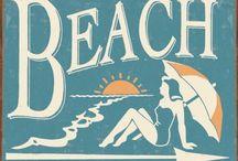 Beach - vintage