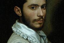 men portrait (different painters)
