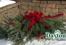 Cemetery Blankets & Pillows / grave blankets, grave pillows, cemetery wreaths, greens, garland, artificial