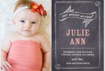 baby arrival card ideas
