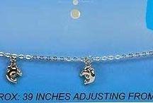 chaines de taille / piercing nombril incorporé acier 316 L-breloque métal argenté exempt de nickel et de plomb conformément aux directives européennes