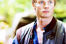 Bradley James is so sweet!