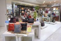 Corner Shop in Shinjuky, Tokyo - Japan / Corner shop at Keio dept. store, Shinjuku Japan www.arcadiabags.com