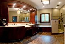 Glen Ellyn Bathroom Remodel / We all want that luxury bathroom we see when we're on vacation.  We've perfected it with our bathroom design for this Glen Ellyn home.