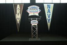 2014 Army-Navy Press Conferece / On Dec. 3, 2014 The Army-Navy Press Conference was held at M&T Bank Stadium as part of the preparation for the 115th Army-Navy Game presented by USAA. / by #ArmyNavy Game