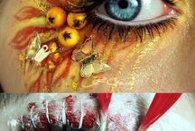 Extravagant Makeup / #makeup #extravagant #hot