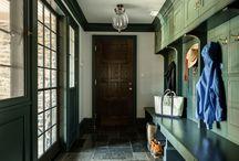 Mud Rooms / entry, umbrella stands, shoe storage, coat hooks, hangers, cupboards, baskets, drawers