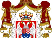 Almanach de Saxe Gotha - Kingdom of Yugoslavia - House of Karageorgevich / The Kingdom of Yugoslavia (Yugoslav, Cyrillic script: Краљевина Југославија; Latin script: Kraljevina Jugoslavija) was a state stretching from the Western Balkans to Central Europe which existed during the often-tumultuous interwar era of 1918-1941. It was formed in 1918 by the merger of the provisional State of Slovenes, Croats and Serbs. http://www.almanachdegotha.org/id42.html